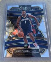 2019/20 PANINI SELECT ZION WILLIAMSON CONCOURSE ROOKIE RC CARD #1