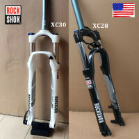 RockShox XC28/30 Suspension Fork 100mm Travel Rebound Adjustment MTB Bike Fork