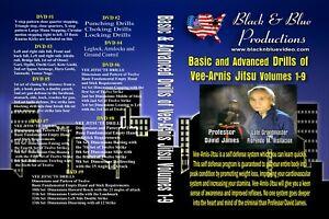 David James Vee-Arnis-Jitsu Series 9 Instructional DVDs