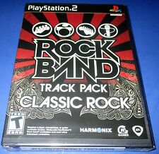Rock Band Track Pack - Classic Rock - PS2 - Factory Sealed! Free Ship!