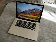 """Apple macbook Pro 15.4""""  A1286 2.4Ghz i7, 8Gb DDR3, 256 Gb SSD - PAY ONLY £299"""