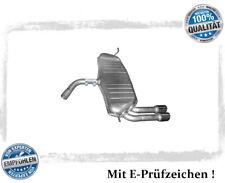 Endschalldämpfer Audi A3 (8P1) 1.4 TFSI, 2.0 FSI Auspuff Endtopf Chrom