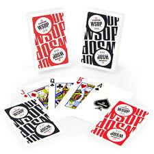 COPAG 100% Main Event 2016 WSOP Plastic Cards - Red/Black- Bridge 2decks