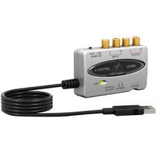 BEHRINGER U-CONTROL UCA202 Scheda audio interfaccia usb bassissima latenza