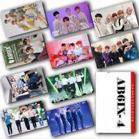 Kpop AB6IX Photo Stikcy Card Young Min Jeon Woong Woo-Jin Crystal Card Sticker