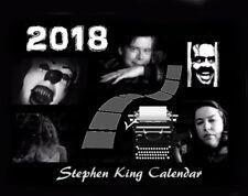 2018 STEPHEN KING MOVIES CALENDAR