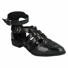 Buckle Synthetic Shoes for Women