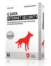G Data Internet Security - 3pc PC Software