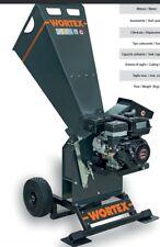SHREDDER wood CHIPPER GASOLINE WORTEX CHIPPER T200 ENGINE LONCIN G 200 6.5HP