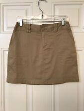 St John's Bay Skort Shorts Skirt Khaki Size 6