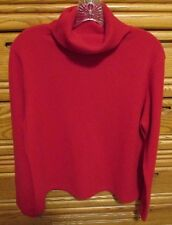 Cashmere Red Sweater Holes Sewing Upcycle DAMAGED Cutter Scrap Craft Repair