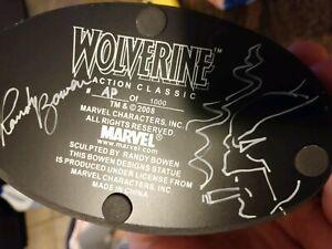 Bowen Wolverine A.P. Signed and Sketched nt kotobukiya hot toys iron studios