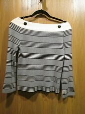 Chanel AUTHENTIC Gray Cashmere Pullover Long Sleeve Blouse Top SZ 36 NEW $2035
