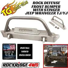 Trail Gear Rock Defense Jeep Wrangler TJ YJ 87-06 Front Bumper w/ Stinger USA
