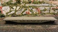 Varney HO Vintage Northern Pacific Lithographed Metal 50' Flat Car, Exc