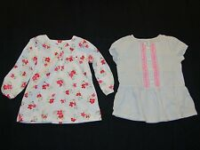 Baby Floral Tops Shirts Lot of 2 Carter's 18 Months 18M