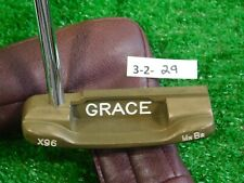 """Bobby Grace X96 Mn Br 35.5"""" Putter with Headcover Excellent"""