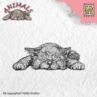 Motivstempel Clearstamp Stempel Kitten Kätzchen Katze Nellie Snellen ANI009