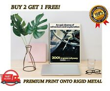 2001: A Space Odyssey Classic Movie Premium METAL Poster Art Print Plaque Gift