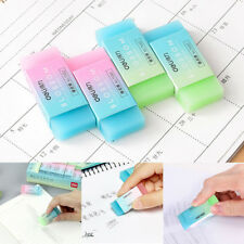 1Pcs Colorful Jelly Rubber Eraser Pencil Erasers for Kids School Stationary