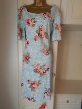 FAB UNLINED DRESS WITH STRETCH BY JOE BROWNS NWT SIZE UK 16 BUST 40-42""