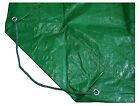 Yard Tarp / Leaf Hauler, Green, 9 x 9-Ft.
