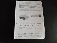 Original Service Manual   Blaupunkt Autoradio Bonn CR stereo
