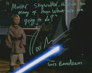 """Ross Beadman in person signed 10"""" x 8"""" photo - Star Wars - WITH QUOTE! - K546"""