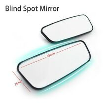 2pcs Car Accessory Rear View Blind Spot Mirror Adjustable Wide Angle Assist Part