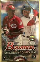 2018 Bowman Baseball Hobby Box - Factory Sealed