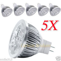 5 X MR16 LED 15W Dimmable Downlight Spotlight Globe Bulb Spot Light Lamp Ceiling