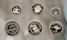 #T27. AUSTRALIAN 1999 & 2000 MASTERPIECE IN SILVER COIN  SETS