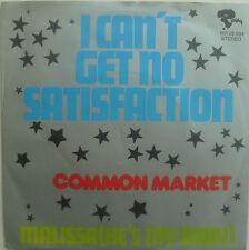 "7"" CV ROLLING STONES 1973! COMMON MARKET : Satisfaction"