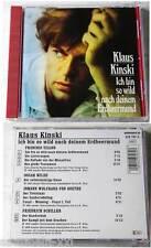 Klaus Kinski - Ich bin so wild nach... 1990 Amadeo CD