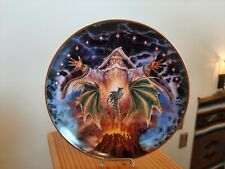 New listing Dragon Rising Wizard Myles Pinkney Royal Doulton England Collectors Plate