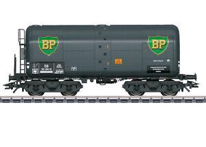 Märklin 47914 Schweröl-Kesselwagen BP mit Bremserbühne Einmalserie #NEU in OVP#