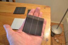 Anamorphous panneaux solaires for Educational & Hobby utilisation. 1.5 V 500 mA 6 pieces