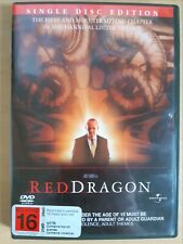 Red Dragon  [ Region 4 DVD ] FREE Next Day Post from NSW