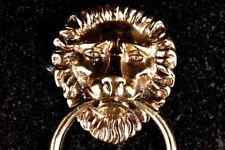 Löwenkopf mit Greifring im Empire Stil
