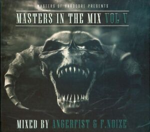 ANGERFIST/F.NOIZE - MASTERS OF HARDCORE-MASTERS IN THE MIX VOL.5  2 CD NEW
