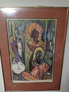 IRMA STERN 1894-1966  Authentic Litho(1955) PORTFOLIO COLLECTION #221/250 22x31F