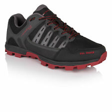 Higher State Homme Soil Shaker Trail Chaussures Course À Pied Baskets Rouge Noir