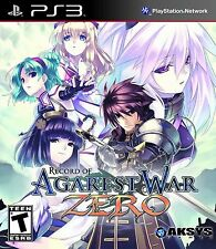 Record Of Agarest War Zero PS3