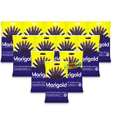 12x Marigold Extra Tough Outdoor Gardening Gloves Medium Heavy Duty Rubber