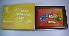 2008 Beijing Olympic 5 Fuwa Mascots Count Down Puzzle Pin set