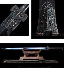 42' 1095 HIGH CARBON STEEL BLUE BLADE FULL TANG CHINESE LONG YIN HAN龙吟汉剑 SWORD