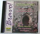 TCHAIKOVSKY P.I. - ROMEO & JULIET, SYMPHONY 4 - MAAZEL - CD Nuovo Unplayed