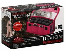 Revlon Electric Heat Curler Waves Ceramic Hot Rollers Travel Hair Setter Styling