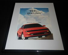 1990 Toyota Celica Framed 11x14 ORIGINAL Vintage Advertisement