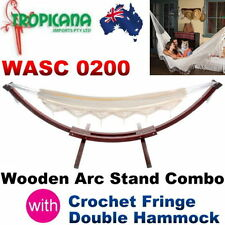 Wooden Hammock Stands
